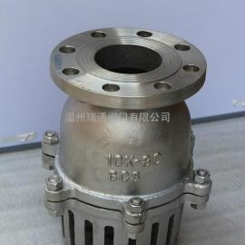 H42W-16P不锈钢底阀