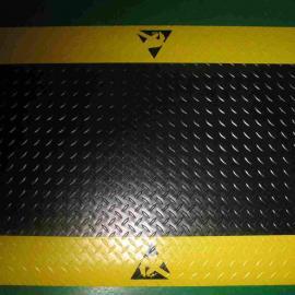 防静电抗疲劳地垫 直销黑色防静电台垫 防静pvc防滑垫