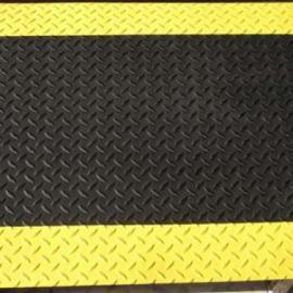 黑色抗疲劳地垫原材料 抗疲劳地垫参数 无臭味防静电台垫厂