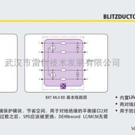 BXT ML4 BE 5-180系列双绞xiantong道防雷模块价格