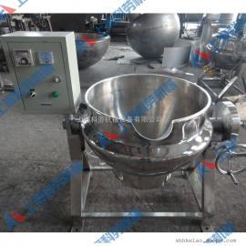 200L电加热导热油夹层锅 熬糖锅