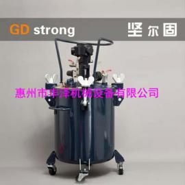 厂家直销气动压力桶手动/自动搅拌压力桶20L油漆涂料压力桶