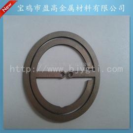 供应铂金钛电极环钛电极
