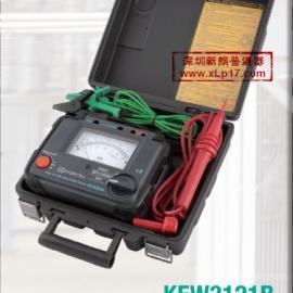 克列茨KYORITSU|2500V绝缘电阻测试仪3121B
