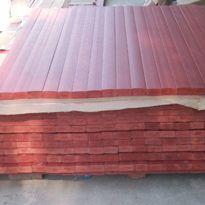 棕红色(板栗色)塑木条批发