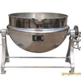 食品蒸煮夹层锅,电加热夹层锅,可倾式搅拌夹层锅