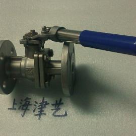 弹簧自动复位球阀 TQ41F-16P-25-40P