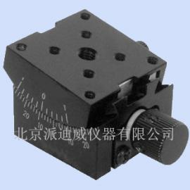 PT-SD304 精密型手动角位台 分厘卡 微分头 手动位移台