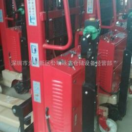 公明半电动堆高车1.5T2.5M