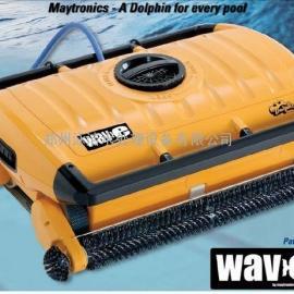 泳池设备海豚牌全自动泳池清洗机wave300水下吸尘器泳池吸污机