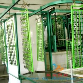 自动化过水生产线、输送式过水设备、电镀过水线