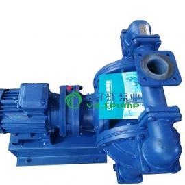 衬氟电动隔膜泵:DBY型不锈钢防爆电动隔膜泵,化工隔膜泵