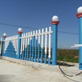水泥围栏设计刷漆