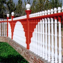 别墅水泥艺术围栏刷漆