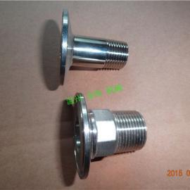 六角外螺纹接头 外螺纹快装接头(卡盘50.5mm)
