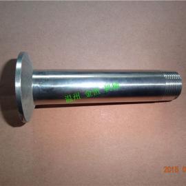 不锈钢304材质的快装外丝(总长100mm)