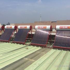 员工宿舍楼太阳能热水器安装