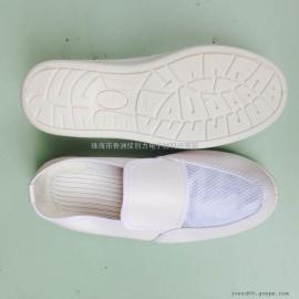 SPU底舒适皮革网面透气防静电鞋厂家促销