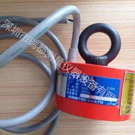 日本强力小型电磁吊重磁盘 LMU-20D电磁吸盘