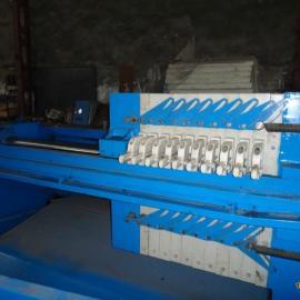 豆渣酒糟甘蔗脱水设备,厢式1250型泥浆压滤机