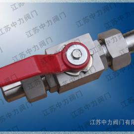 CNG不锈钢高压球阀