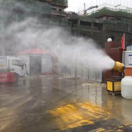 建筑工地扬尘治理喷雾降尘beplay手机官方诺瑞捷NRJ60降尘雾炮