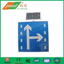 """太阳能LED警示牌晗琨交通标志牌 ,让安全交通之路""""锦上添花"""""""