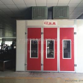 厂家供应简易环保汽车烤漆房,标准红外线烤漆房