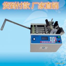 现货供应铜xian铜bo裁剪机 PVC电池套管qie管机 硅胶条裁剪机