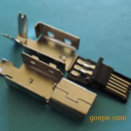 MINI USB 5P公�^(焊�式3件套一�w式大V上下�ぃ�