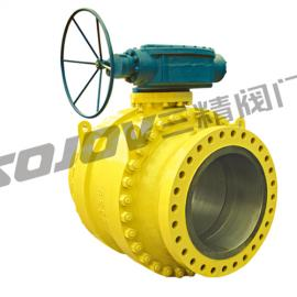 Q347F/H蜗轮固定球阀