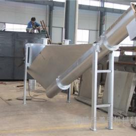 SF型无轴螺旋砂水分离器 不锈钢砂水分离器