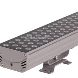 新款LED四基色投光灯36W LED外墙立面圆形投光灯 36W红色IP65防水