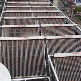 学校太阳能热水系统 洗浴太阳能 太阳能燃气并联供暖系统