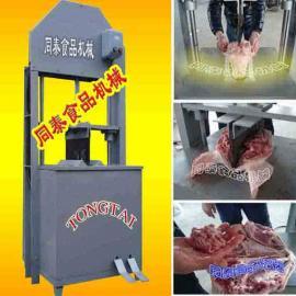 实用型液压猪头劈半机,劈猪头机