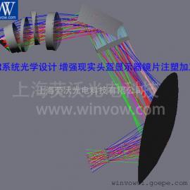 VR镜片光学设计 虚拟现实光路设计 VR镜头设计