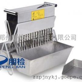 不锈钢多规格有机肥样品缩分机