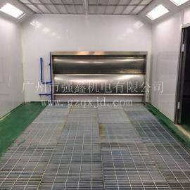 工厂直供水帘式喷漆房 不锈钢水帘喷漆房定做