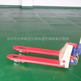 常规型3吨宽板手动鸿福叉车