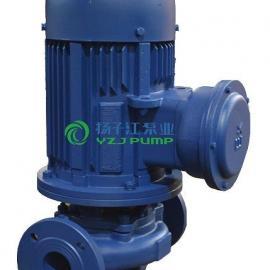 管道泵:ISGB型防爆管道增压泵立式管道热水泵