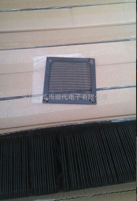 配8025风扇的网罩 80铝网罩 黑色铝网
