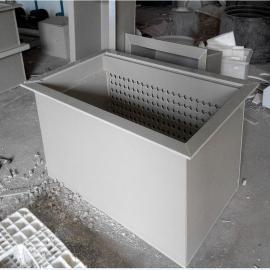 廊坊化工专用PP磷化酸洗槽防腐酸洗槽价格PVC电镀池厂家