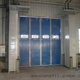 工业侧吹式热大门口空气幕 轴流式空气幕 离心式冷热水风幕机