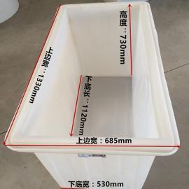 *生�a塑料周�D箱塑料水箱500 升塑料箱食品�水箱加厚型