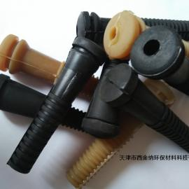西金纳牌空心式高弹性95毫米脱毛机胶棒