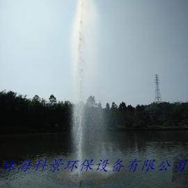 湖泊高喷式喷泉曝气机