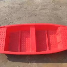厂家供应保定4m塑料渔船,耐摔打捞船,捕鱼船