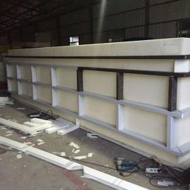 厂家定制塑料防腐电镀槽PP电解槽PVC酸洗槽磷化槽