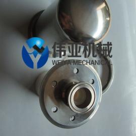 伟亚卫生级快装呼吸器,水箱专用呼吸器,304不锈钢移动储罐