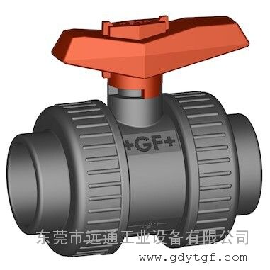 +GF+手动阀门 375型球阀 PVC-U 日标 PN16
